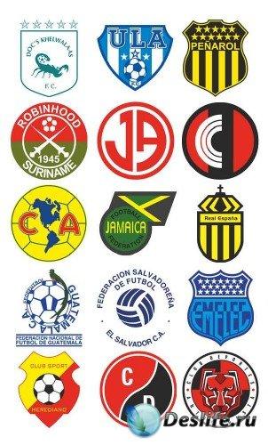Логотипы и эмблемы футбольных команд Америки