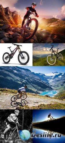 Растровый клипарт - Горный велосипед