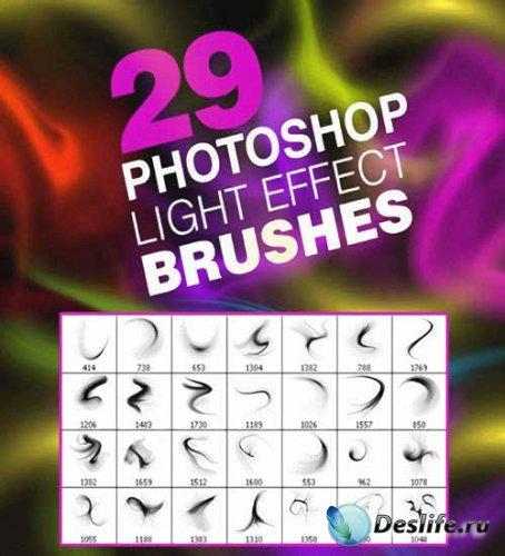 Кисти для фотошопа - Light effect