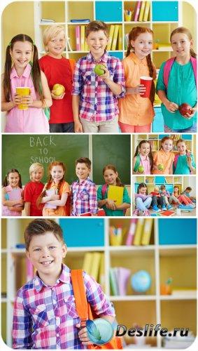 Дети и школа / Children and school - stock photos