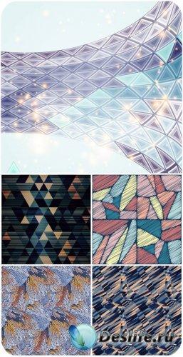 Абстрактные векторные текстуры, фоны / Abstract vector textures, background ...