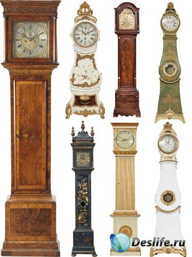 Часы напольные (подборка клипарта)