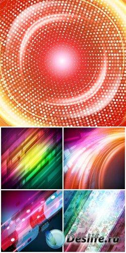 Абстрактные векторные фоны  / Abstract vector backgrounds