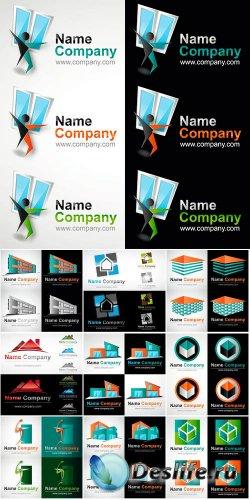 Строительные векторные логотипы