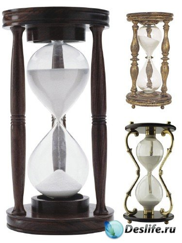 Песочные часы (подборка клипарта)