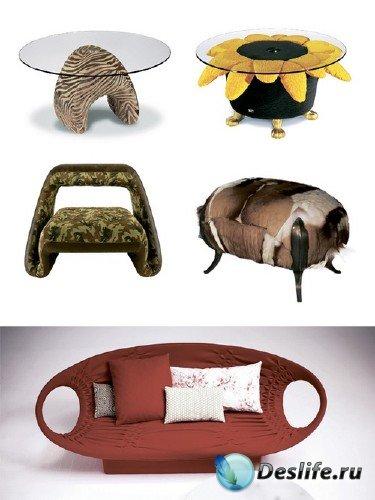 Креативная мебель (подборка растрового клипарта)