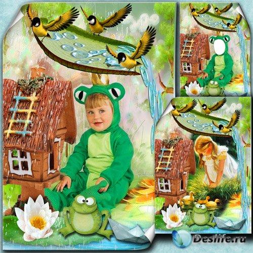 Детская фоторамочка на осеннюю тему - Моё лесное царство