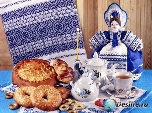 Разные блюда русской кухни