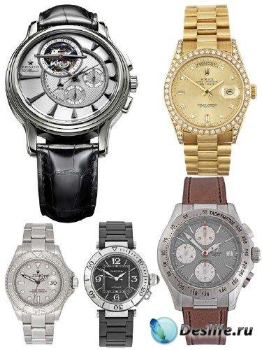 Мужские часы (подборка клипарта)