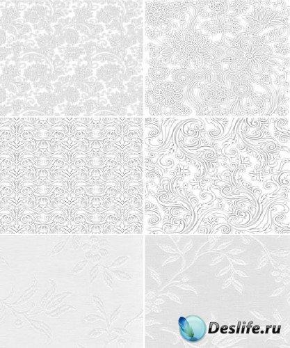 Коллекция белых текстур