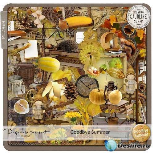 Осенний скрап-комплект - До свидания лето
