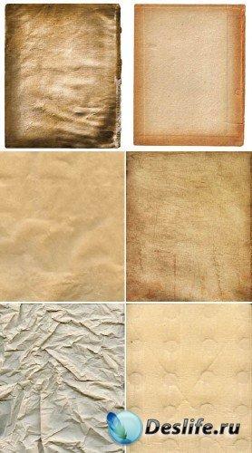Промокашки и мятая бумага