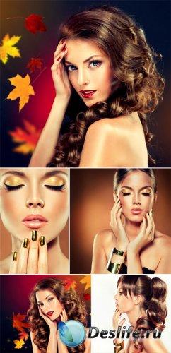 Красивые девушки, мода, гламур / Beautiful girls, fashion, glamor - Stock p ...