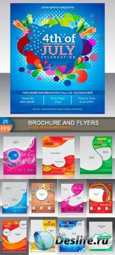Брошюры и флаеры для дизайна 2