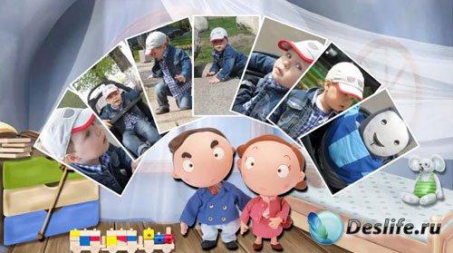 Детский проект для ProShow Producer - Шаг за шагом