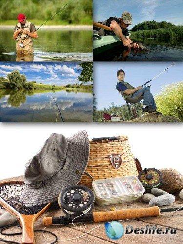Активный отдых: Рыбалка (подборка изображений)