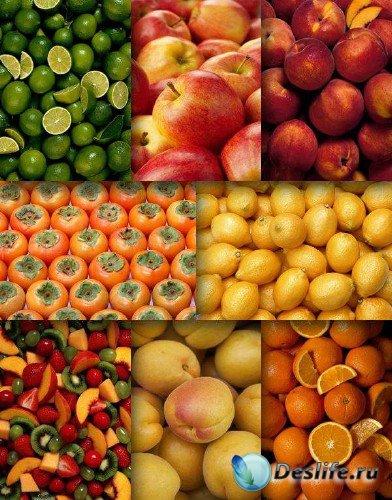 Фон (текстура) из фруктов