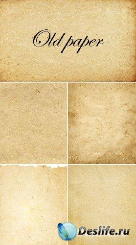 Старая плотная бумага