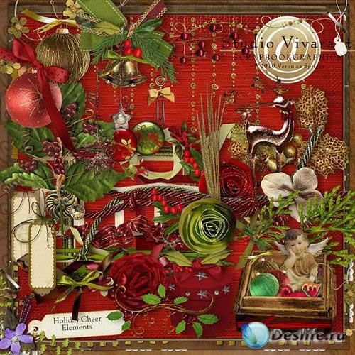 Новогодний скрап-комплект - Весёлый праздник