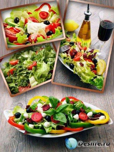 Салат из овощей (подборка изображений)