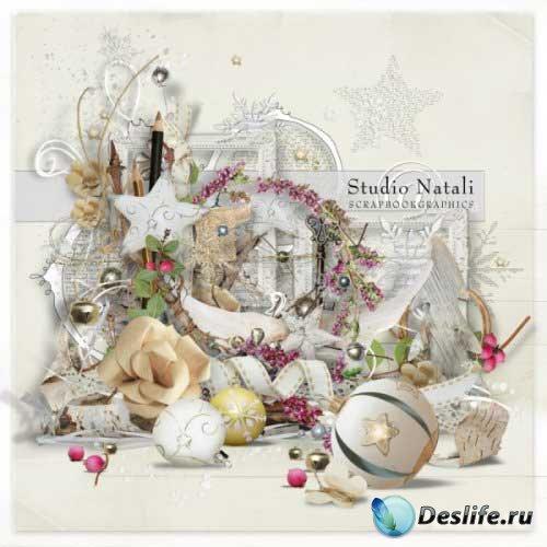 Новогодний скрап-комплект - Магия зимы