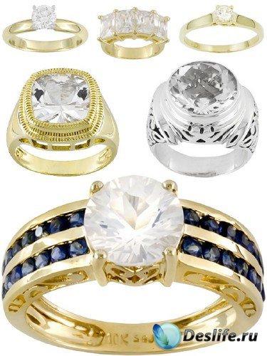 Кольца и перстни украшенные алмазами (подборка изображений)