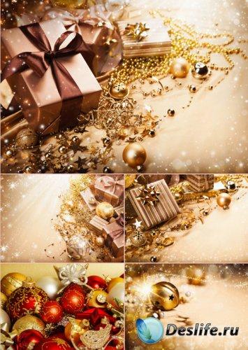 Стоковые фотографии - Новогодние украшения. Часть 2