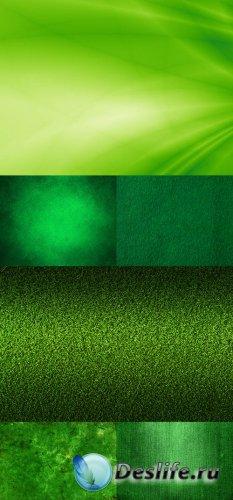 Зелёные фоны в растре