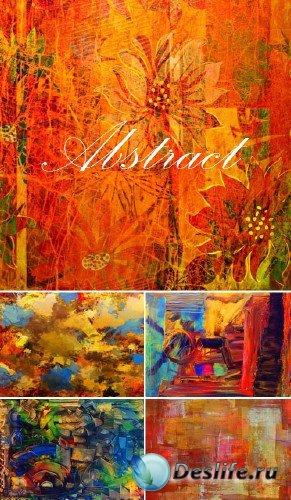 Абстрактный цветной гранж