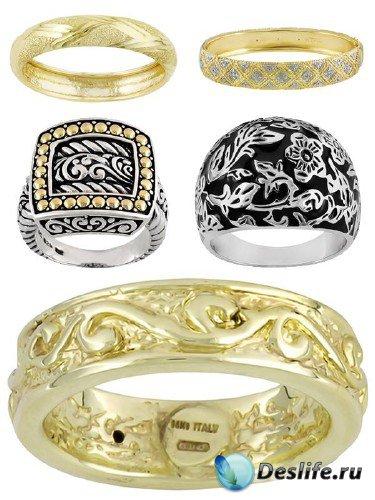 Кольца и перстни без драгоценных камней (подборка ювелирных украшений)