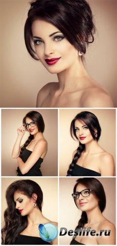 Beautiful girl, fashion, style - stock photos