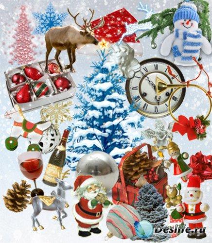Скрап набор - Новый год и Рождество