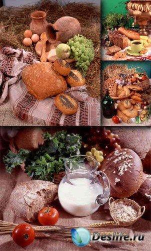 Фото-натюрморт: Хлеб, сдоба, выпечка (подборка изображений)
