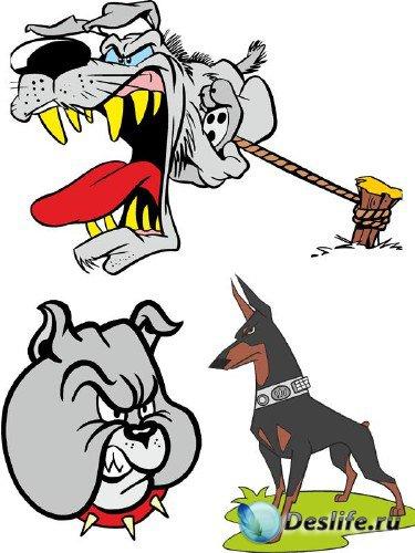 Злая собака - векторные отрисовки (вторая часть)