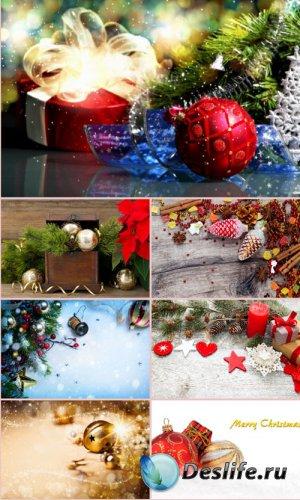 Стоковые фотографии - Новогодние украшения. Часть 6