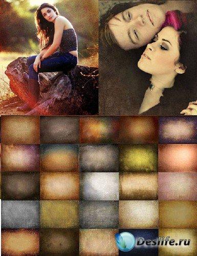 Коллекция текстур подложек для фото