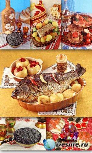 Икра и рыба (подборка изображений)