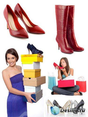 Женщины и обувь (подборка изображений)