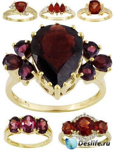 Ювелирные украшения: Кольца и перстни украшенные рубинами (подборка изображ ...