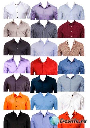 Костюмы для фотошопа  - Рубашки для фото на документы