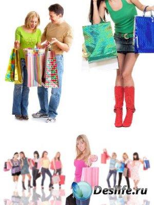 Люди делают покупки (подборка изображений)