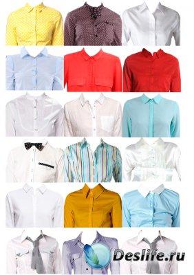 Костюмы для фотошопа  - Женские рубашки для фото на документы