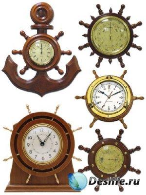 Часы (морская тематика) подборка клипарта