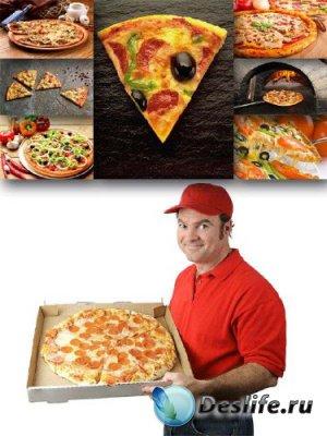 Подборка растровых изображений Пиццы