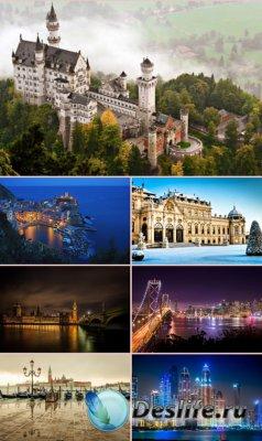 Обои красивые города мира. часть 1