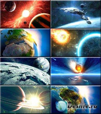 Красочные обои - Далекие миры и планеты #42