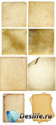 Старые листы бумаги