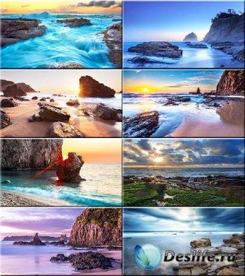 Красочные обои - Вода камень точит #62