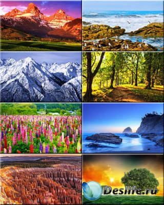 Красочные обои - Красивая природа #32