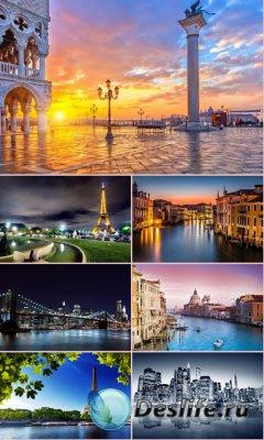 Обои красивые города мира. часть 3